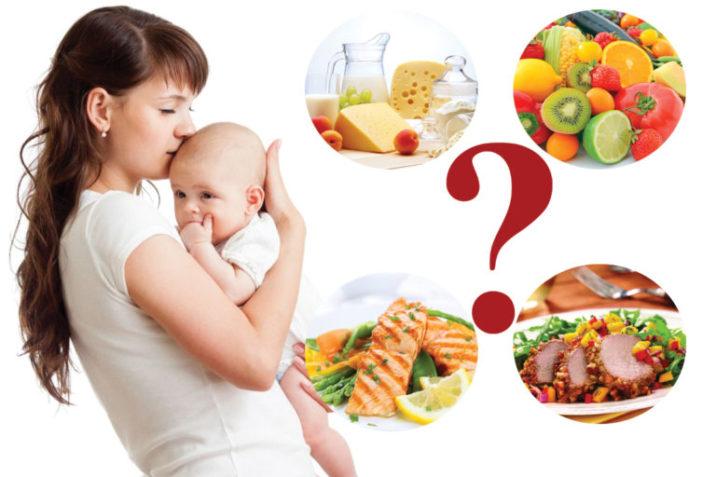 Что можно, а что нельзя есть и пить кормящей маме