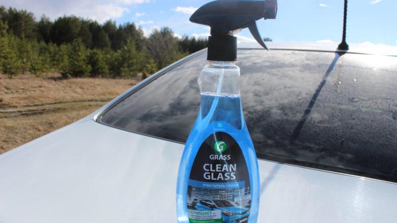 Очиститель автомобильных стекол от марки GRASS